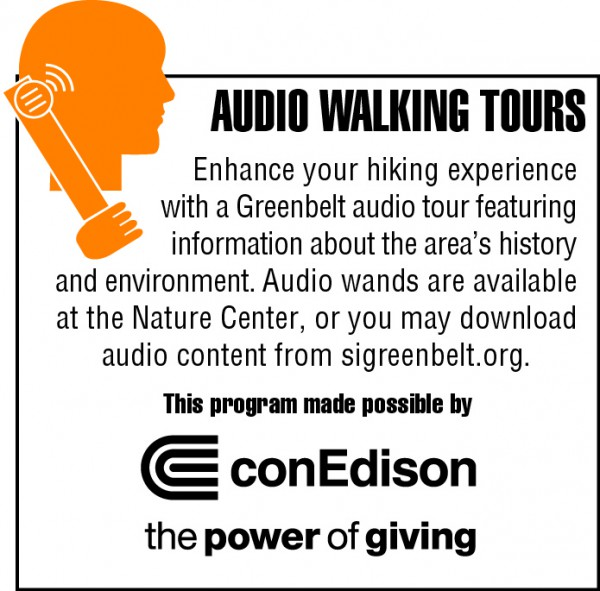 NEW: Audio Tours of the Greenbelt made possible by Con Edison