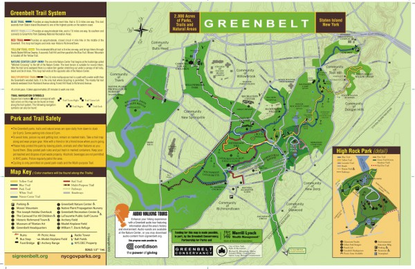 Greenbelt Trail Map: 2013 version